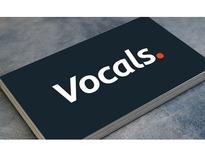 Vocals 音樂串流網站 LOGO-鹿果數位溝通 (Lugo)